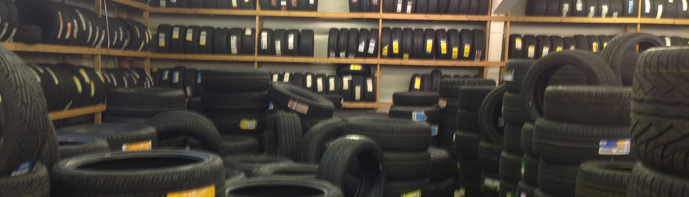 Moe's Wheels and Tires inventory
